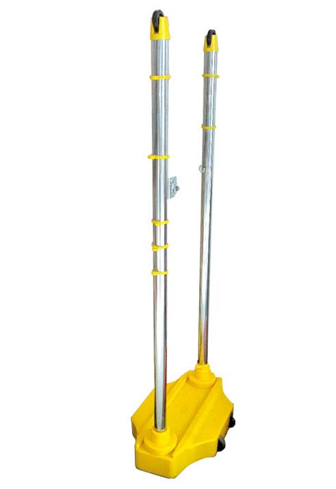 CD-05 移动式双向羽毛球柱(ABS/钢管/不锈钢/铝合金)
