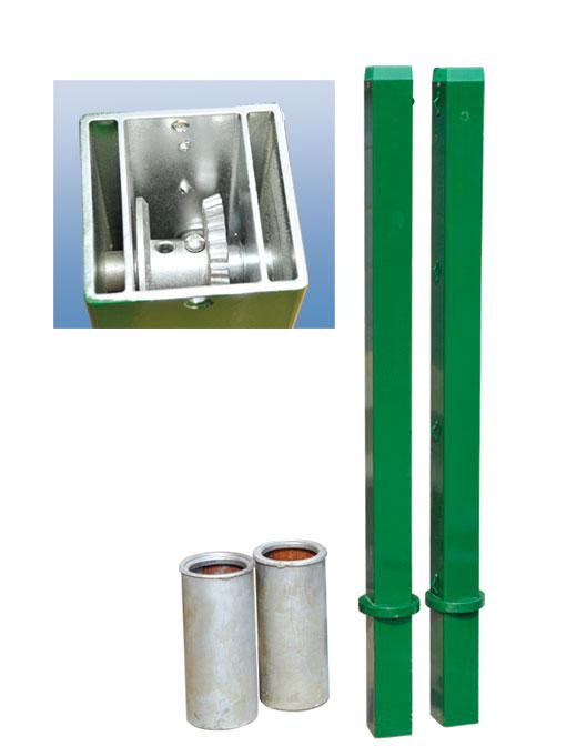 CD-02-B铝合金插地式网球柱(2058)