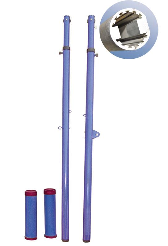 CD-04 铝合金插地式排球柱(2042)